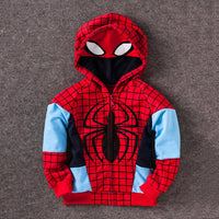 Avengers Iron Man Thor Children Hoodies Boys Clothes Baby Boys Coat Spider Man Costume Kids Hoodie Child Top Tees T Shirts
