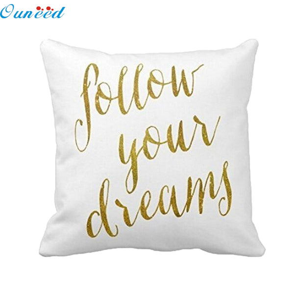 Pillow case - personalized. Ouneed Happy home  Pillow Case  Waist  Pillow Shams Home Decorate