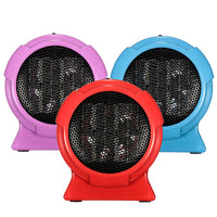 Dropshipping Heater Portable Handy Durable Quality Mini Personal Ceramic Space Heater Electric Winter Warmer Fan Blue