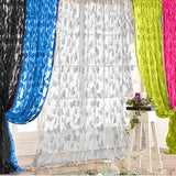 200x100cm Window Curtains Butterfly Tassel String Door Curtains for Living Room Bedroom Divider Curtain Home Decoration