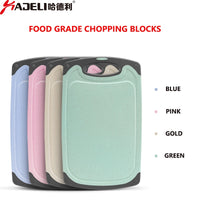 Chopping Board by HADELI: Antibacterial Plastic;  Multifunctional; Heat Resistant; Fruit Cutting Boards