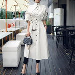 Women's A-Line Trench Coat: New arrival for Autumn 2019;  High Quality, Fashionable, Comfortable, Professional Look