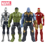 "Marvel Avengers Toys: Thanos, Hulk, Spiderman, Iron Man, Captain America, Thor, Wolverine, Black Panther / 11.8"" (30cm) tall"