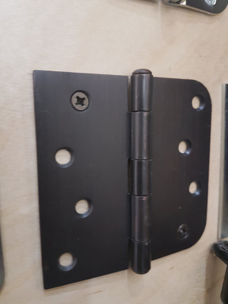 "Exterior Hinges-NRP (4"" x 4"" x 2.2mm-Box 100) 10B/17A/26D/15C (Oil Rubbed Bronze, Antique Nickel, Brushed Chrome, Satin Nickel)"