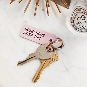Going Home Keychain