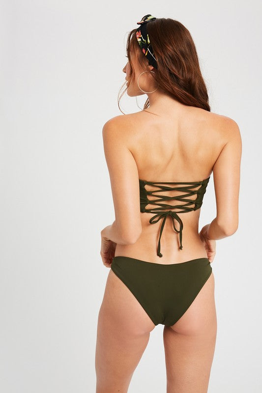 Olive this Bikini Set - The Krazy Kow Co.