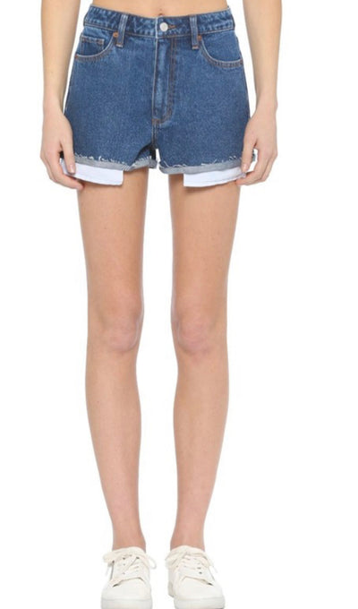 Classic denim shorties