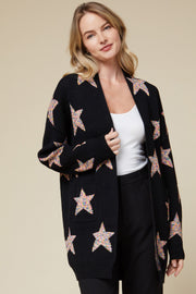 The stars are big and bright cardigan