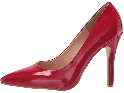 SCARLETT RED PATENT