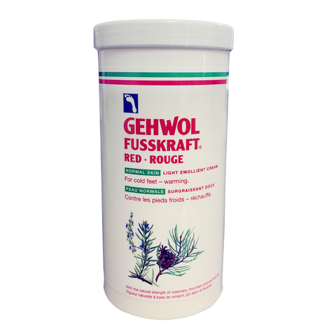 Gehwol Fusskraft Red - Rouge 450ml