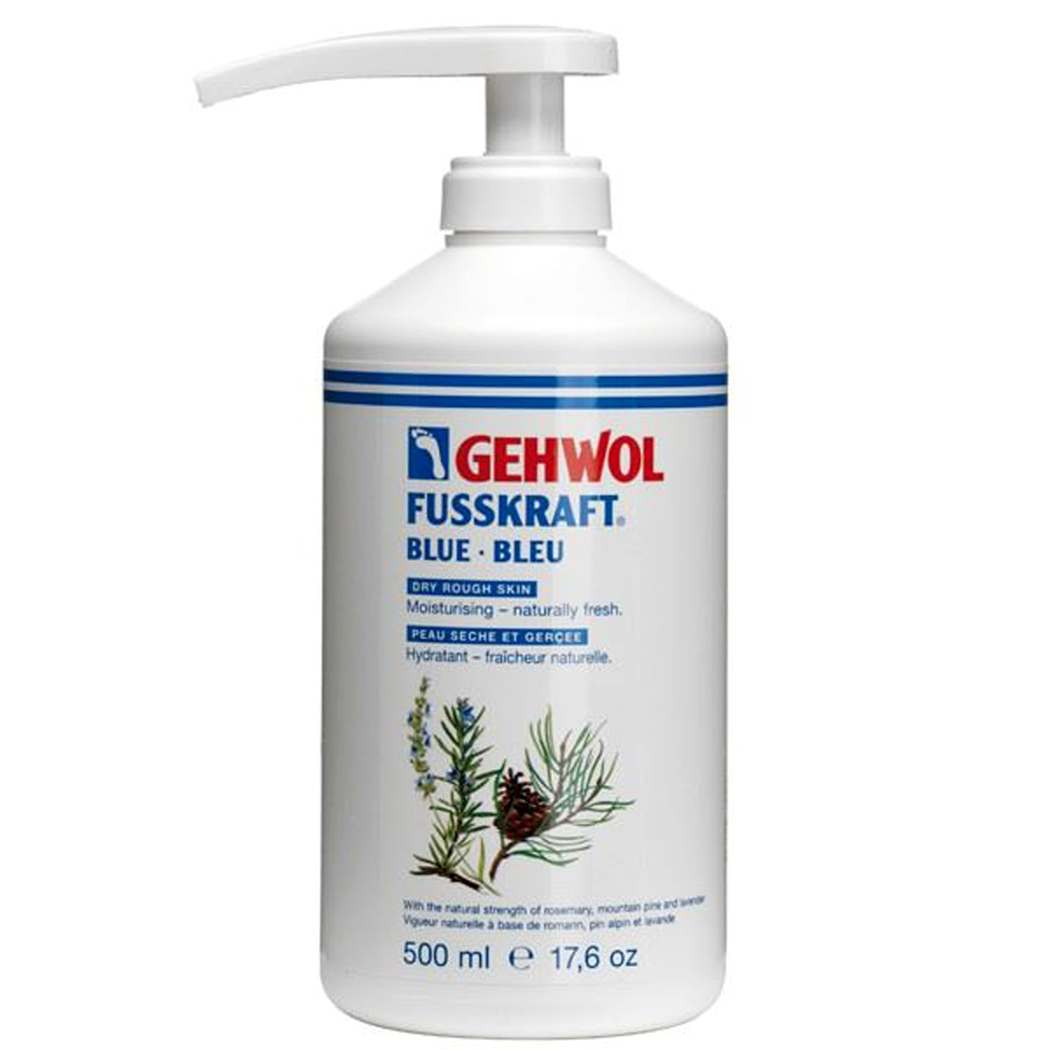 Gehwol Fusskraft Blue 500ml