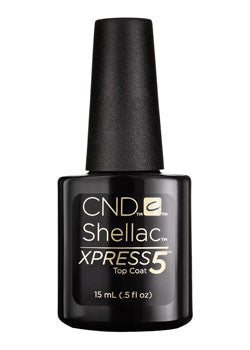 CND Shellac Xpress5 top coat .025 oz