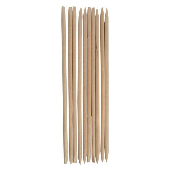 "Orange Wood Stick 7"" (100 pcs / pack)"