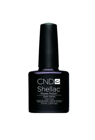 CND Shellac Dark Dahlia-Nail Supply UK