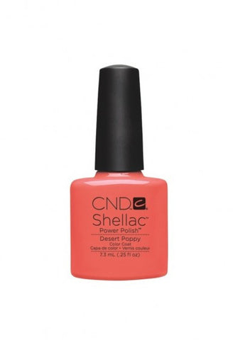 CND Shellac Desert Poppy-Nail Supply UK