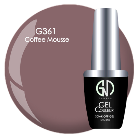 coffee mousse gnd g361 one step gel