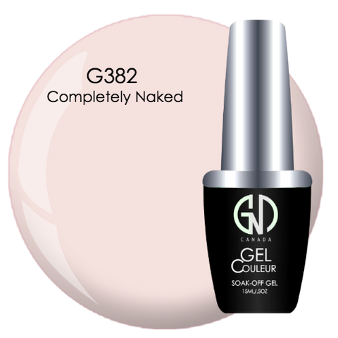 COMPLETELY NAKED GND G382 ONE STEP GEL