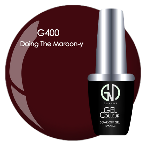 doing the maroon-y gnd g400 one step gel