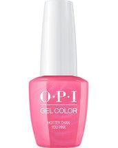 OPI Gel Color. HotterThanYouPink_GC_N36.