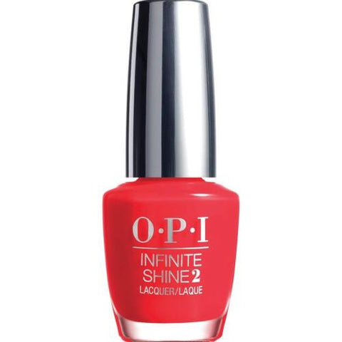 OPI Infinite Shine ISL08 Unrepentantly Red