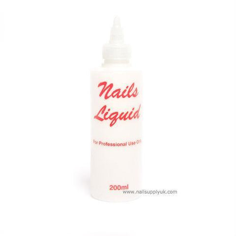 Liquid Empty Plastic 200ml