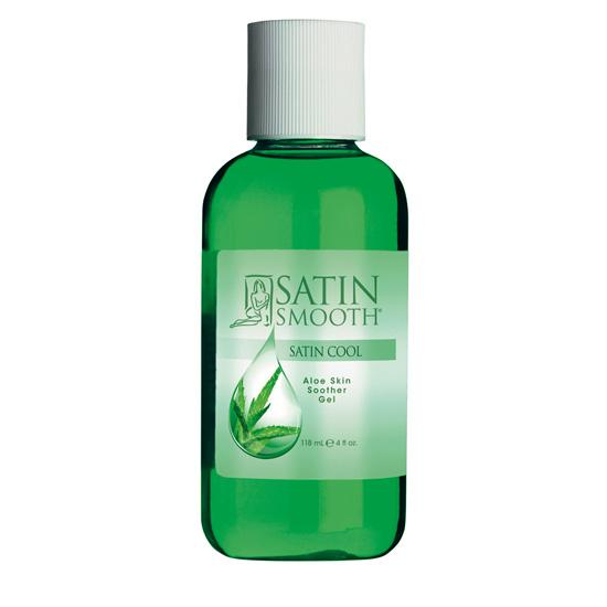 satin cool¬ aloe vera skin soother 4 oz.