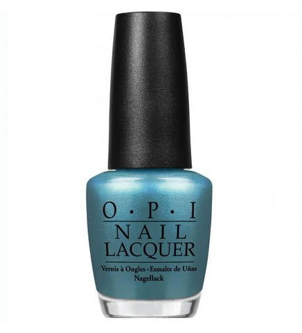 B54 TEAL THE COWS COME HOME OPI Nail Polish