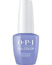 OPI Gel Color. YoureSuchABudapest_GC_E74.