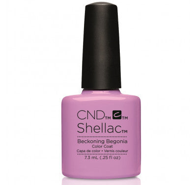 CND Shellac beckening begonia-Nail Supply UK