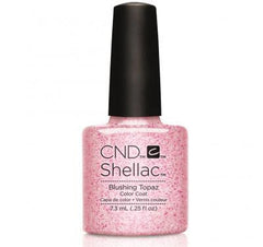 CND Shellac blushing topaz-Nail Supply UK