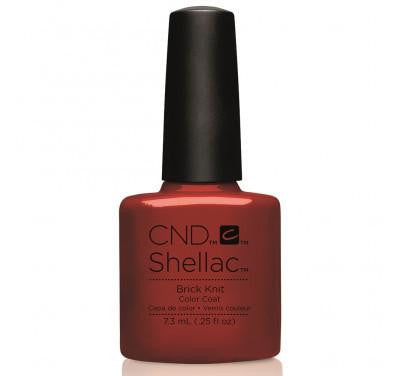 CND Shellac brick knit shellac-Nail Supply UK