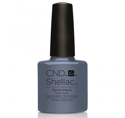 CND Shellac denim patch-Nail Supply UK