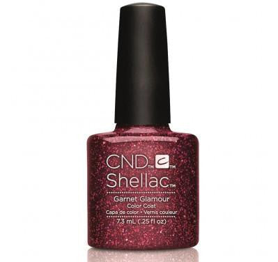 CND Shellac garnet glamour-Nail Supply UK