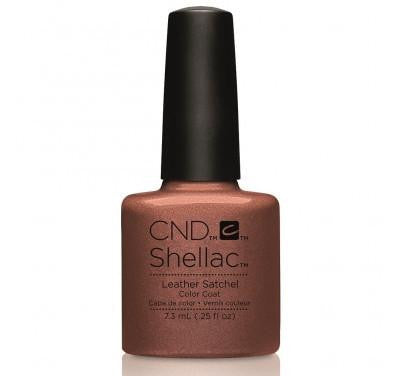 CND Shellac leather satchel-Nail Supply UK