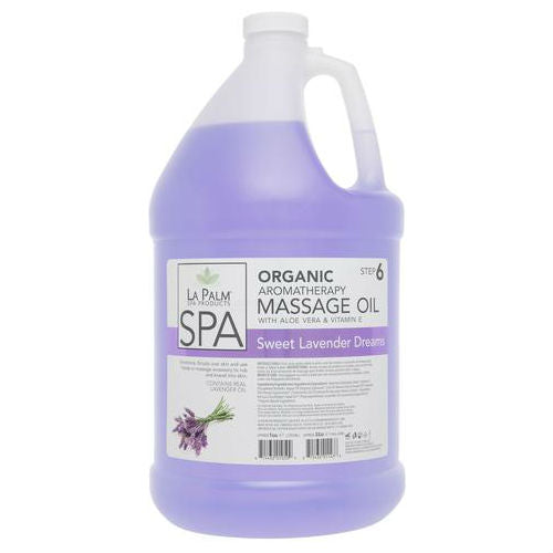 LA PALM MASSAGE OIL (LAVENDER) 1 GALLON