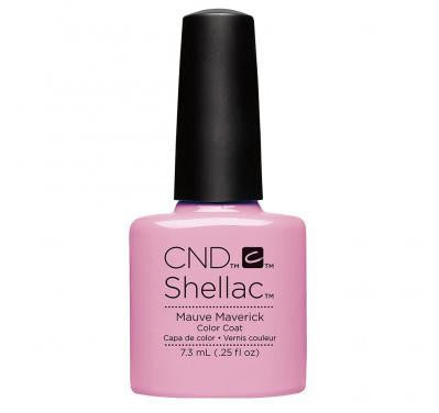 CND Shellac mauve maverick-Nail Supply UK