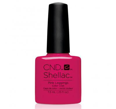 CND Shellac pink leggings-Nail Supply UK