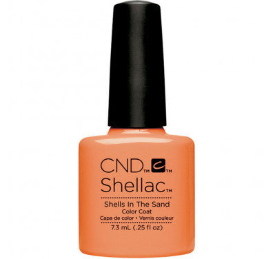 CND Shellac shells in the sand-Nail Supply UK