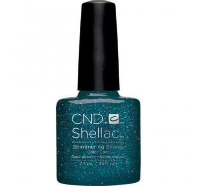 CND Shellac shimmering shores-Nail Supply UK