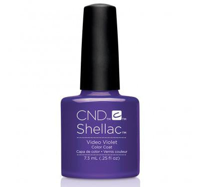 CND Shellac video violet-Nail Supply UK
