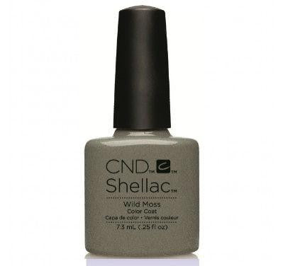 CND Shellac wild moss-Nail Supply UK
