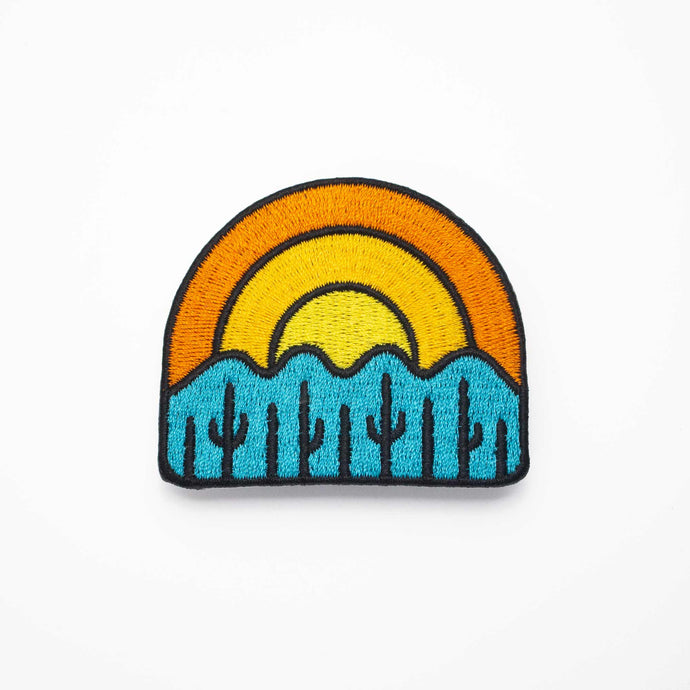 Four Peaks Sunset Patch