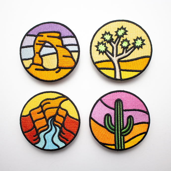 Southwest Parks Patch Set