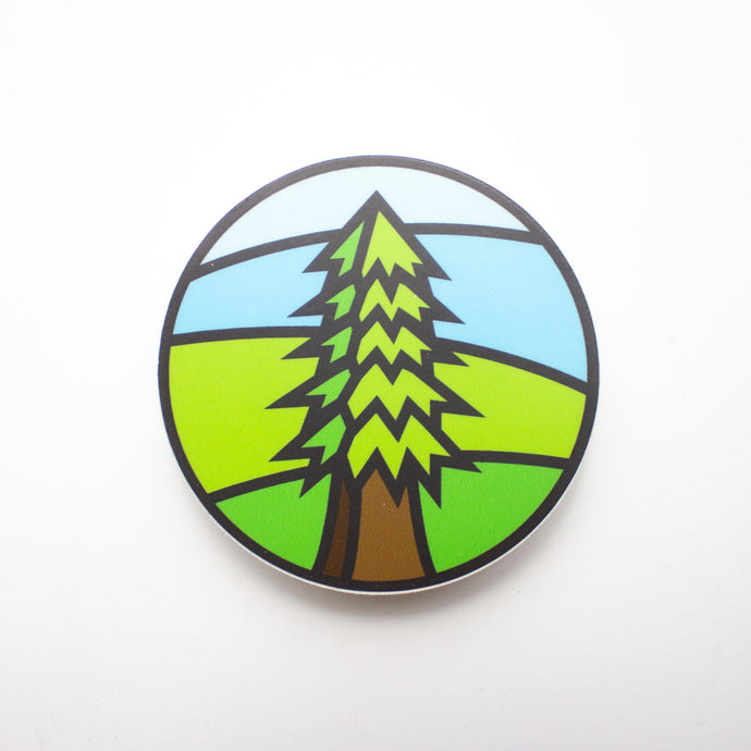 Redwoods Tree Sticker