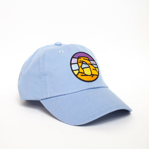 Baby Blue Arches Hat