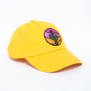 Yellow Saguaro Hat