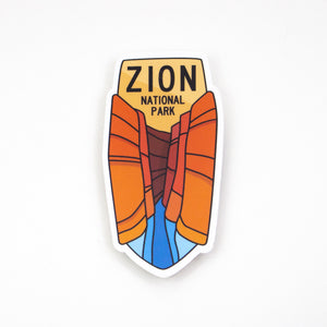 Zion Sticker