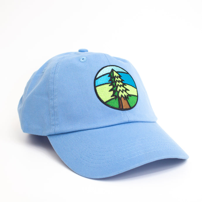 Sky Blue Tree Hat