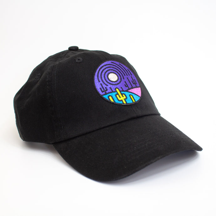 Black Saguaro Moon Hat