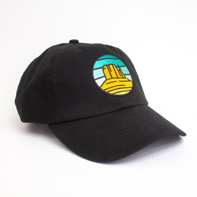 Black Monument Valley Hat
